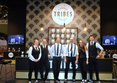Het team van Tribes Coffee.