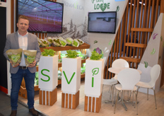 Karol Bancyr van Smart Vegetable Innovations (SVI).