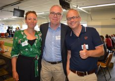 Matti Vink (Control Union Certifications), Oeble Kempenaar (High Quality Organics) en Michaël Wilde (Eosta).