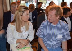 Barbara den Hollander (Bio Bebo) met Eric Beek (Illimani).