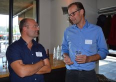 Ruben Borge (Rockin Soils) en Arno van der Heijden (TLR International Laboratories).
